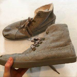 Toms shearling Booties